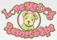 Love My Dog Resort  our Logo